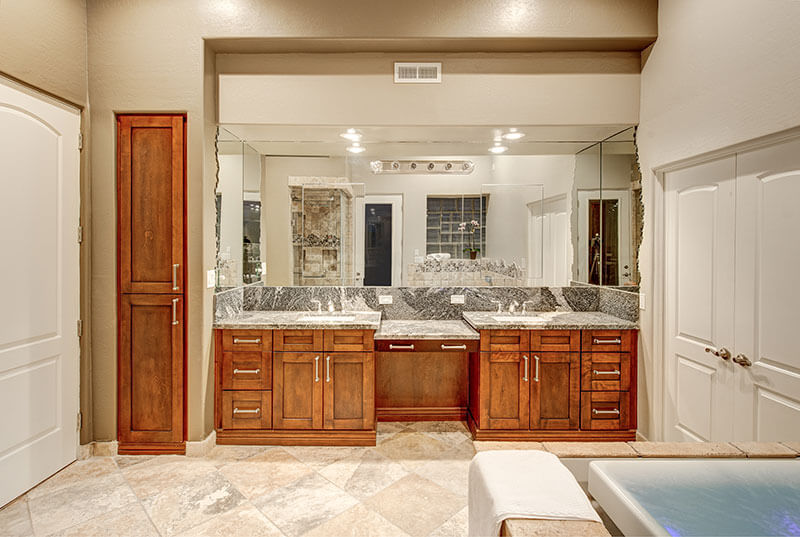 Take A Look At This Gorgeous Paradise Valley Style Bathroom Remodel.
