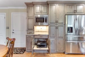 Ultracraft Frameless Kitchen Cabinets in Scottsdale Boston Wood 4 of 6
