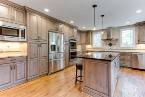 Ultracraft Frameless Kitchen Cabinets in Scottsdale Boston Wood 5 of 6