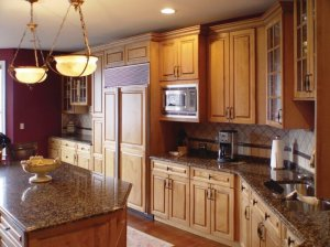 Ultracraft Frameless Kitchen Cabinets in Scottsdale Boston Wood 6 of 6
