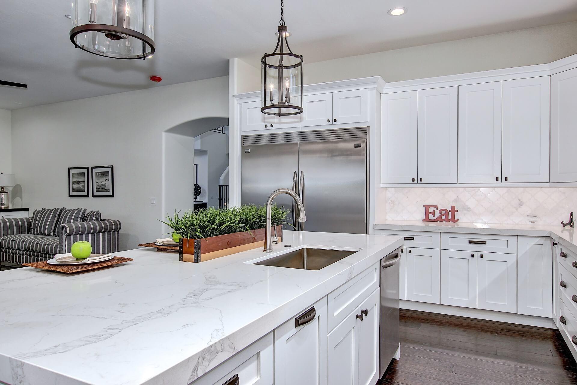 Quartz Countertops | Kitchen Cabinets & Countertops Remodeling ...