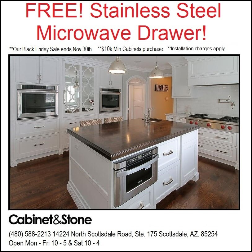Black Friday Sale Free SS Microwave Drawer
