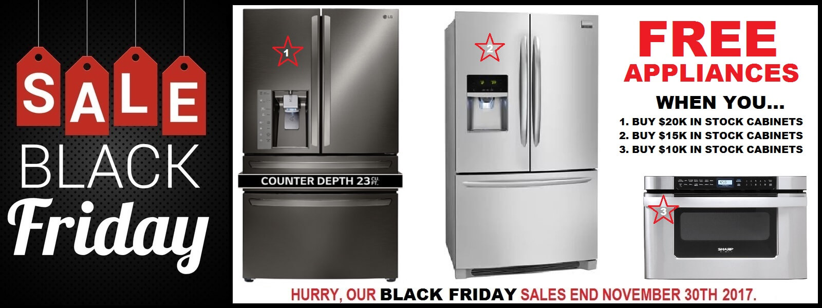 Black Friday Sale Free Kitchen Appliances