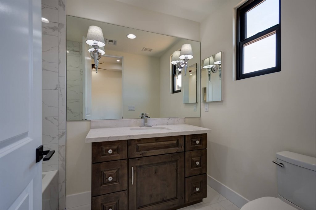 Luxurious Bathroom Designs Cave Creek AZ Cabinet & Stone