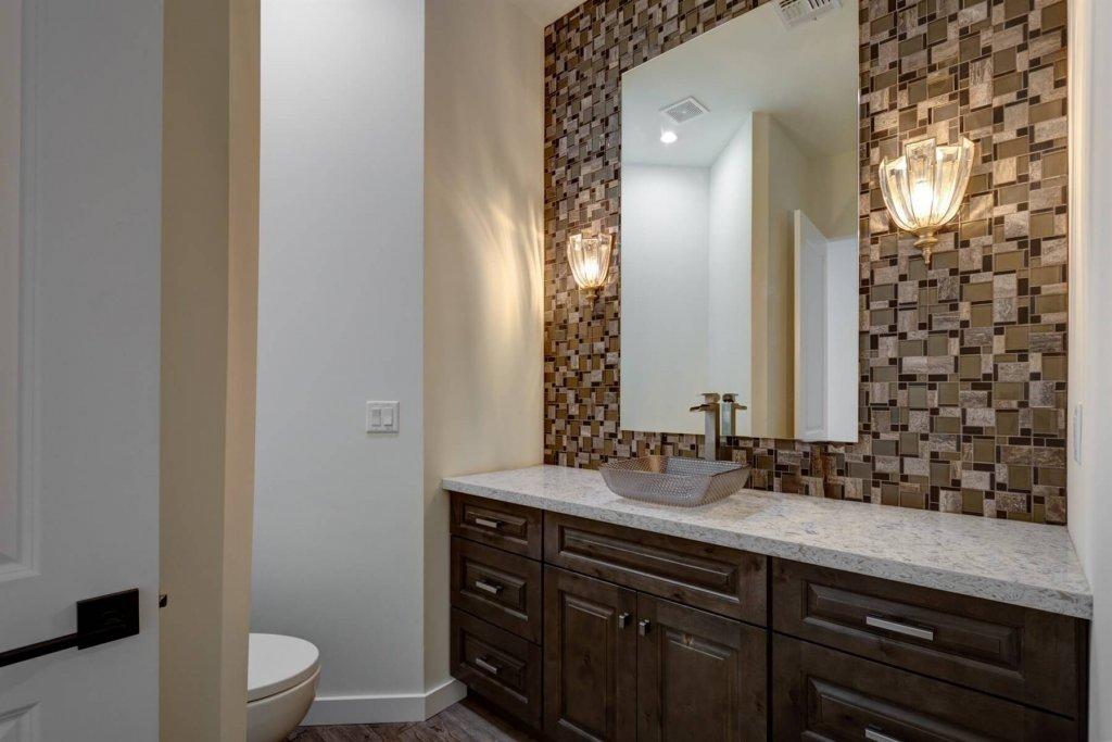 Gourmet Kitchens Luxurious Master Bath Wet Bar Designs Cave Creek