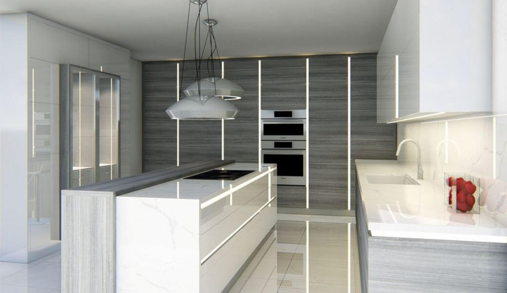 Envii high end full access European style cabinetry in Scottsdale